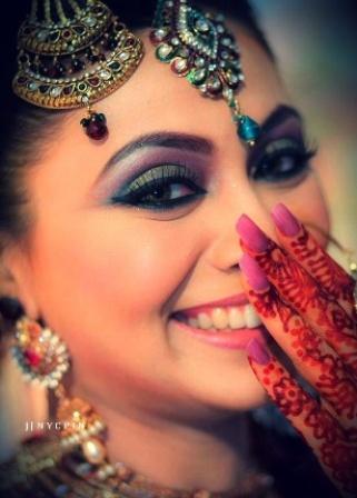 Indian Sikh Bridal Makeup Look