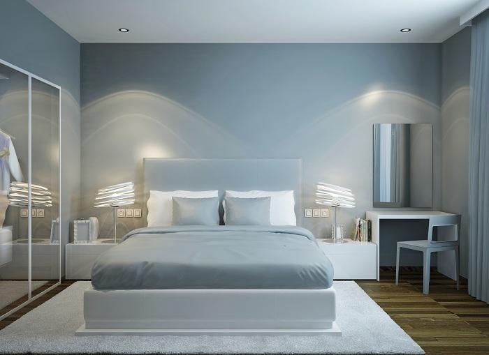 Master Bedroom Scandinavian Style