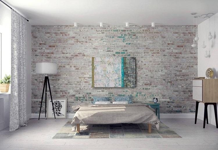 Wall Tiles Bedroom Interior Design