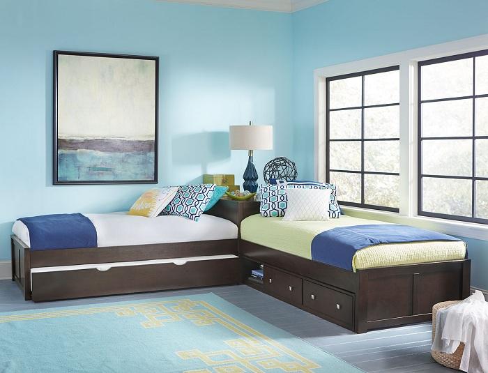 L Shaped Bedroom Interior Design