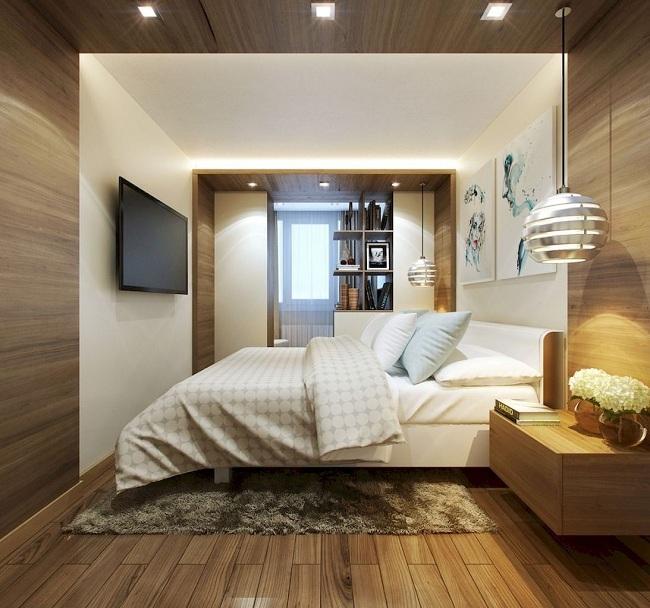 Wall Mounted Tv Bedroom Design