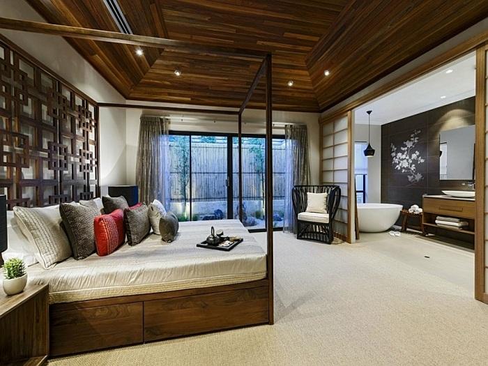 Japanese Interior Bedroom Design