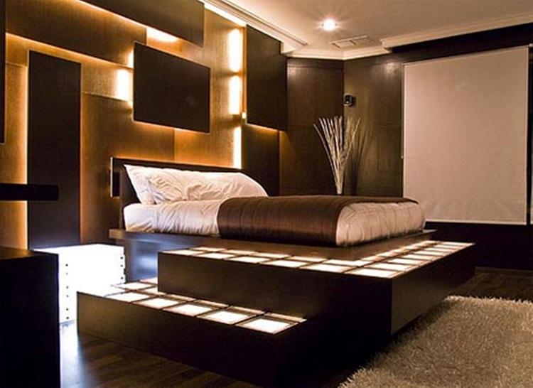 Black Theme Bedroom Interior Design