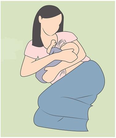 Breast Feeding Positions-side lying position