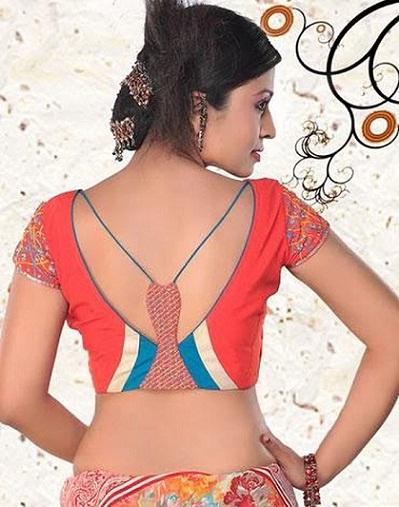 Blouse Back Neck Designs20