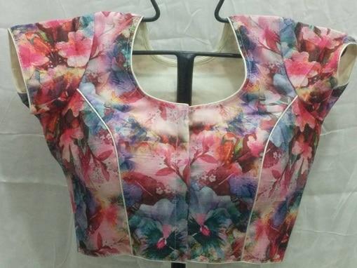 Floral Designer Blouse