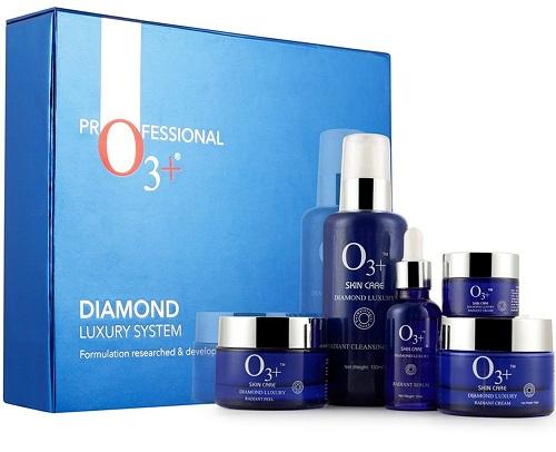 O3+ Diamond Luxury System Facial Kit for Bridal Makeup