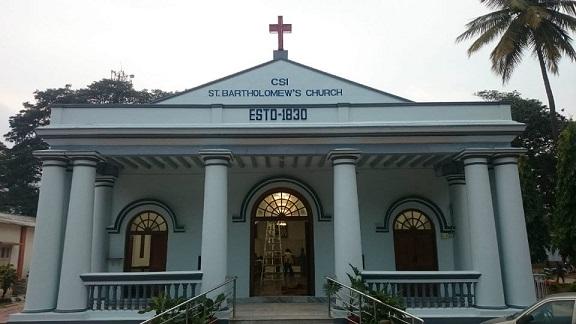 St. Bartholomew's Cathedral, Nilgiri Road