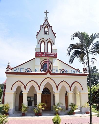 churches in mysore