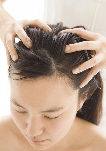 Head Massage FOR LONG HAIR