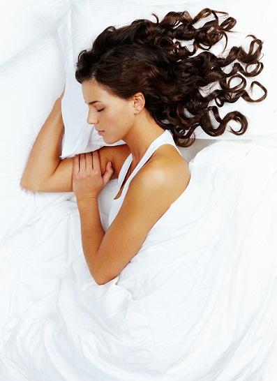 Sleeping for long hair