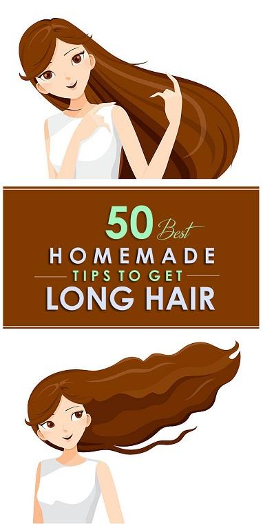 Homemade Tips For Long Hair