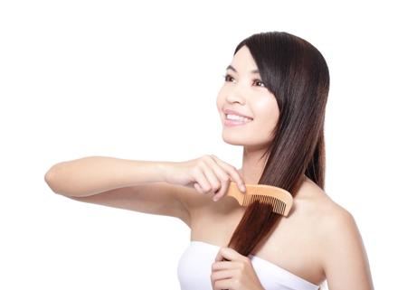 Good brushing for hair