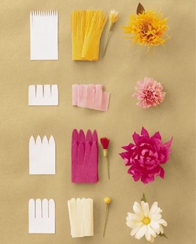 Paper Flowers Craft Ideas