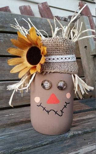 Mason Jar Fall Craft Ideas