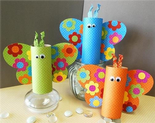 Butterfly Craft Ideas: