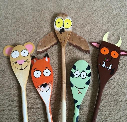 Kids Story Spoon Set Craft Ideas