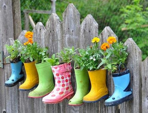 Garden Planters Craft Ideas