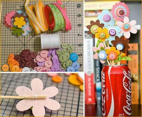 Flower Arrangement Craft Ideas