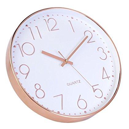 "Modern 12"" Wall Clock"