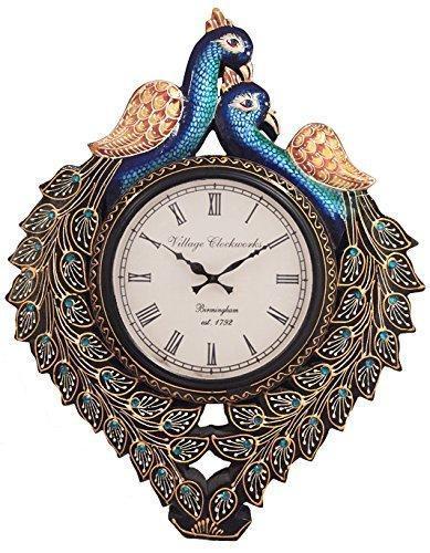 Peacock Analog Wall Clock