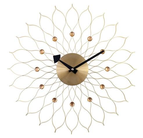 Decorative Meta Aluminium Analog Wall Clock