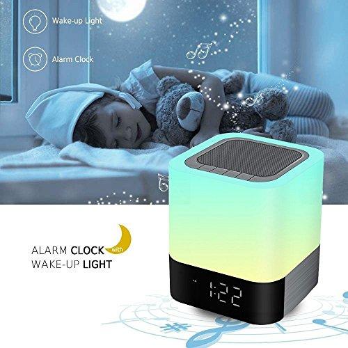 Digital Clock With Bluetooth Speaker