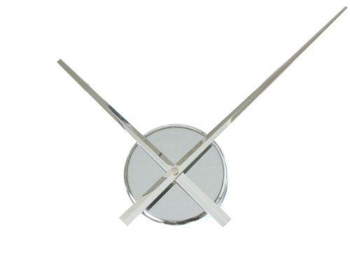 Simple Elegant Glossy Aluminum Wall Clock