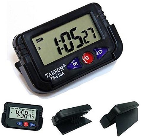 Digital LCD Alarm Clock