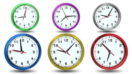 6 Clocks in Bunch
