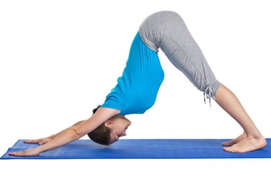 Adho Mukha Svanasana Yoga for Digestive Health