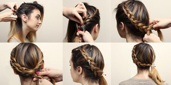Boho Style Weaving Braid