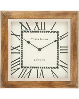 Trendy Wood Wall Clock