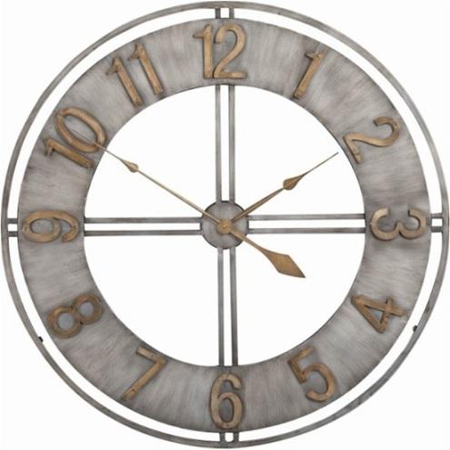Industrial Loft Metal Wall Clock