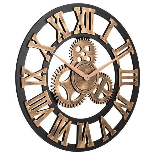 3D Retro Vintage Wall Clock