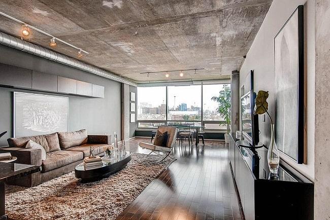 Cement Ceiling Design