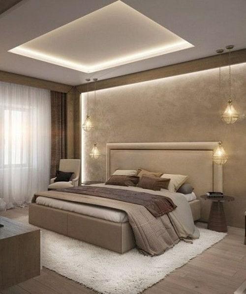 False Ceiling Design For Indian Bedroom