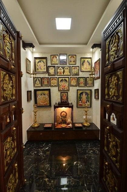 Pooja Room False Ceiling