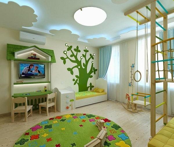 Kids Room False Ceiling