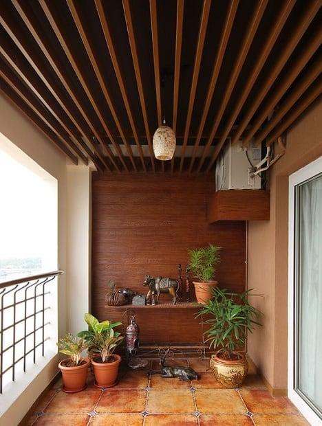 Balcony Ceiling Design