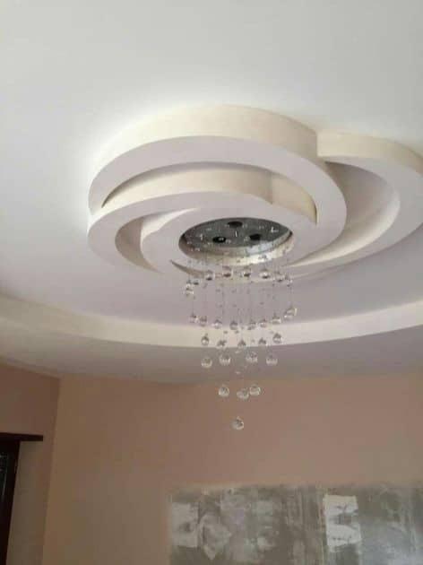 Ceiling Flower Design