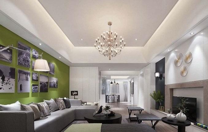 Rectangular Ceiling Design