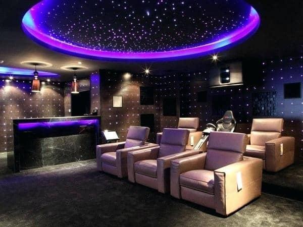 Home Theatre False Ceiling Designs
