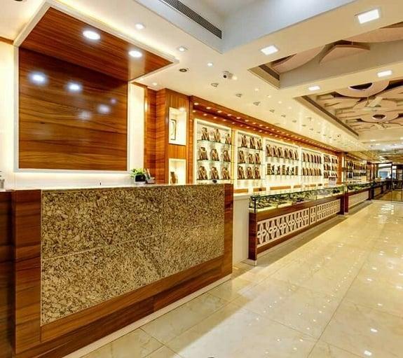 Jewellery Shop False Ceiling Design
