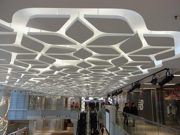 Shopping Mall Ceiling Design