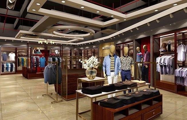 Showroom False Ceiling Design