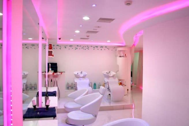 Salon False Ceiling Designs