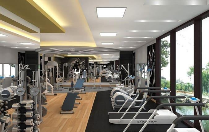 Gym False Ceiling Designs