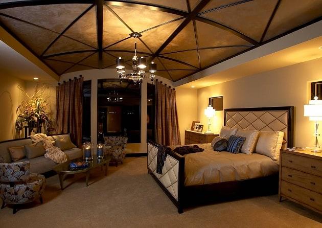 Custom Bedroom Ceiling Design