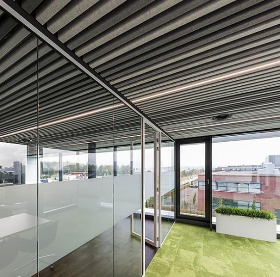 Fabric/Cloth Ceiling Design